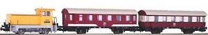 Piko 58135 Zugset Nahverkehr mit Diesellok BR 102.1 mit 2 Personenwg. DR Ep. IV