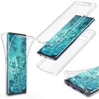 Hülle für Huawei P Smart Z Dual Sim STK-LX1 Full Cover 360 Grad Silikon Tasche