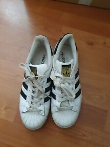 Adidas Trainers Superstars Size 7