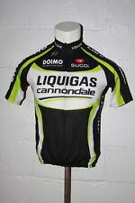 Euc Sugoi Cannondale Liquigas Full Zip Cycling Jersey Shirt Sz L Large
