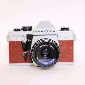 Vintage Fotokamera #5 Praktica MTL 5b mit Meyer Görlitz Domiplan Objektiv TOP