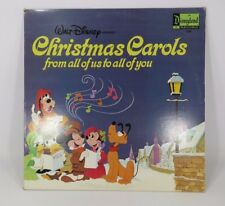 Walt Disney Disneyland Christmas Carols From All of Us to All of You Record