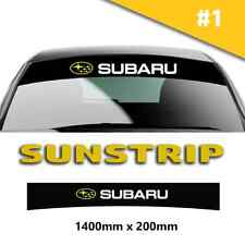 Fits Subaru Impreza Sunstrip Car Stickers Decal Graphics Windscreen Stripes