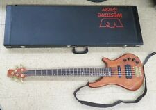 Custom build  Five -String  Electric Bass Guitar with hard case