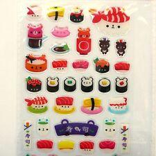 46x Cute Sushi Stickers