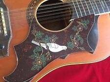 1x Acoustic guitar  scratchplate pickguard Dove design