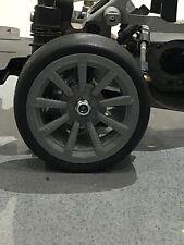 Tamiya Aston Martin DB7 9 Spoke Radio Control Car Wheels 1:10 Scale 52mm X 26mm