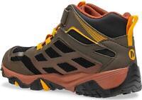 Merrell Kids' Moab FST Mid a/C WTRPF Hiking Boot, Gunsmoke, Size 0.0 SJyn