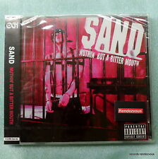Sand RARE NEW Japan CD Nuthin But A Bitter Mouth Hardcore/Nu Metal Anarchy AK-69