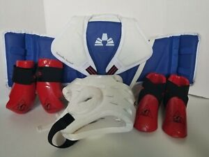 Taekwondo Martial Arts Judo youth young adult  Sparring Gear Protective Pads