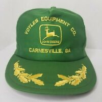 Vintage John Deere Snapback Trucker Hat Louisville Mfg Co Scrambled Eggs USA