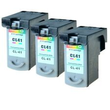US STOCK 3PK CL41 CL-41 Ink Cart for Canon PIXMA MP190 MP210 MP450 MP460 MP470