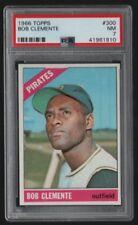 1966 66 Topps Vintage Baseball #300 Roberto Bob Clemente ~Graded PSA Near Mint 7