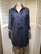 girl krazy dress Long sleeves  Size M Blue color