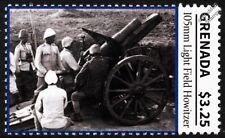 Primera Guerra Mundial Ejército turco escuadrón de artillería/pistola de luz 105mm alemán campo Howitzer Sello