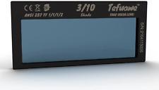 Tefuawe Auto Darkening Welding Lens True Color Blue Technology Shade 10 2x42