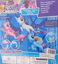 Lovely horse The Cinema  Rainbow Dash Pinkie Pie Rarity Glitter style sea Pony