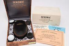 Sekonic L-398 Studio Deluxe 18K Oro Edición Conmemorativa Medidor de Luz