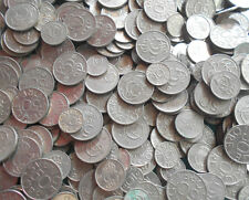 1 KILO LOT - SWEDEN - 10 , 25 & 25 Öre - Well Mixed Copper Nickel Coins
