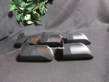 Tupperware NEW Canister Round  BLACK Flour ROCKER SCOOPS Set of 5