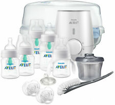 New Philips Avent Anti-colic Bottle with AirFree vent Gift Set All In One