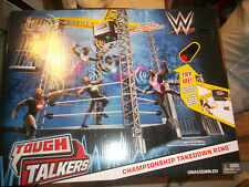 WWE Tough Talkers  Championship Takedown Ring  NEW ring
