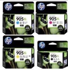 4 Genuine HP905XL Ink Cartridges Black+Cyan+Magenta+Yellow For HP Pro 6970,6956