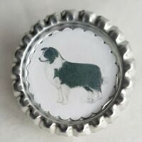 Border Collie Dog Show Ring Clip by Curiosity Crafts
