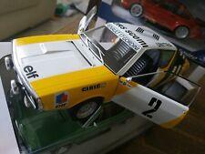 Miniature Renault 17 Rallye de Pologne au 1/18 Solido