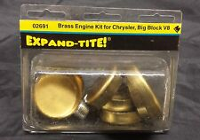 New Expand-Tite Brass Expansion Plugs Chrysler Big Block V8 02691