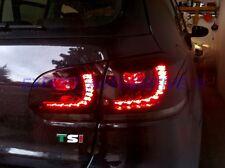 FANALI FARI POSTERIORI ROSSI / FUME' A LED ( MODELLO GTI ) PER GOLF 6 DAL 2008>