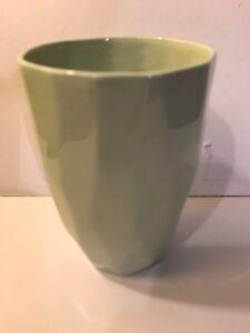 1 X LIV INTERIORS CERAMIC GRAPHICAL CUP MUG MINT DESIGNED WITH NO HANDLE