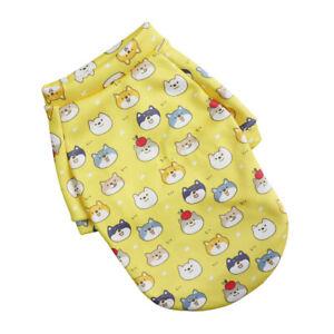 Pet Dog Cat Warm Coat Printed Hoodie Puppy Soft Costume Pet Supplies Apparel *