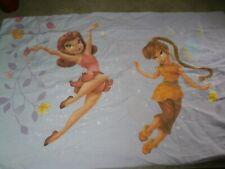 Tinkerbell/Frozen Disney Pillowcase.