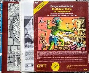 Dungeon Module C1 The Hidden Shrine of Tamoachan