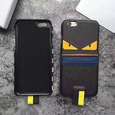"""Cover Case Custodia """"Monster Zip"""" in TPU per Iphone 7 Plus - tipo F E N D I"""