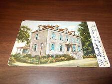 1906 Van Cortland Mansion, Yonkers, NY Vintage Post Card