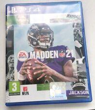 Madden 21 Sony Playstation 4 ps4 Spiel Kostenlose p&p