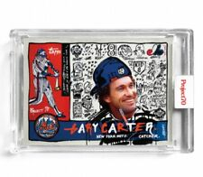 Topps PROJECT 70 Card 95 Gary Carter Gregory Siff Mets Expos New York Project70