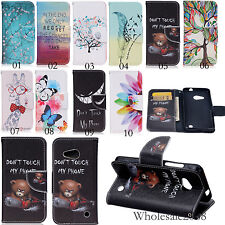 New Magnetic Flip Cover Stand Slot Wallet Leather Case Pouch For Smartcellphones