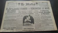 Journal The Morning Mardi 29 October 1940 N° 20.670 ABE