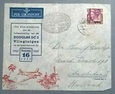 NED. INDIE Luchtpost Batavia - Rotterdam Holland 16-6-1937 BC09