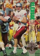 Drew Bledsoe Rookie Classic Single Football Trading Cards