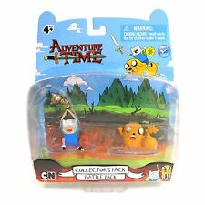 """Adventure Time 2"""" Battle Finn and Jake Pack, NEW by Jazwares"""