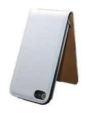 LEATHER FLIP CASE COVER GIFT POUCH FOR APPLE IPHONE 4/4s + Free Screen Protector