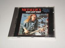 METALLICA - ONE LAST VISIT - METAL MEMORY RECORDS - 1990 - RARE CD MADE IN ITALY