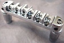 CHROME WILKINSON ROLLER BRIDGE FOR ELECTRIC GUITAR
