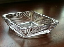 Antique Depression Glass Bowl Trinket Dish Lavander Tint