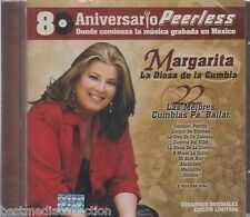 Margarita La Diosa De La Cumbia CD NEW 22 Cumbias 80 Aniversario PEERLESS SEALED