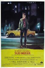 Taxi Driver (1976) Robert De Niro cult movie posterr print